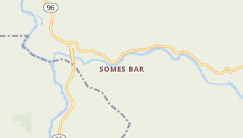 Somes Bar, California map