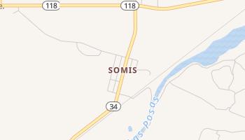 Somis, California map