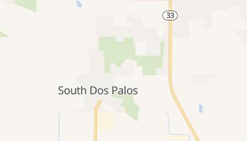 South Dos Palos, California map