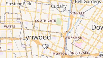 South Gate, California map