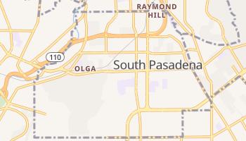 South Pasadena, California map