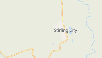 Stirling City, California map