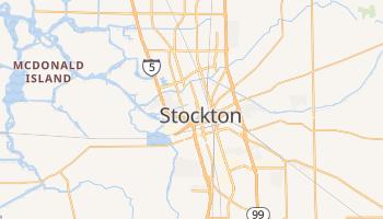Stockton, California map