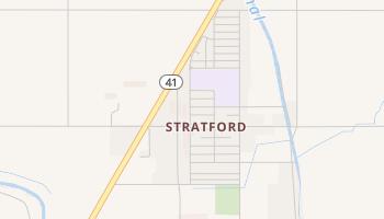 Stratford, California map