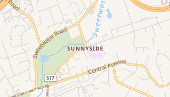 Sunnyside, California map