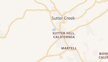 Sutter Creek, California map