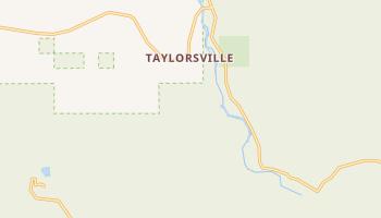 Taylorsville, California map