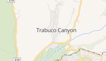 Trabuco Canyon, California map