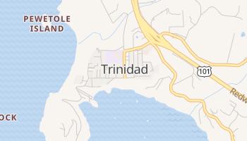 Trinidad, California map
