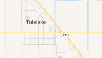 Tulelake, California map