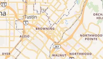 Tustin, California map