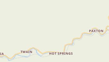 Twain, California map