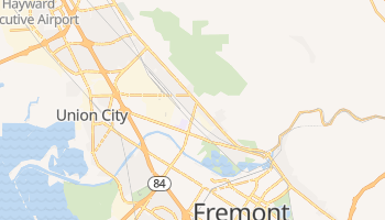 Union City, California map