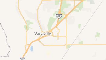Vacaville, California map