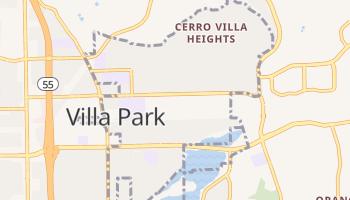 Villa Park, California map