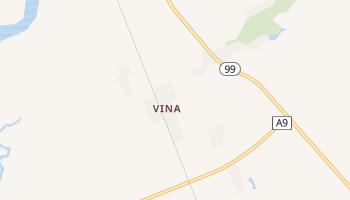 Vina, California map