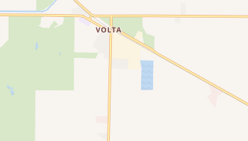 Volta, California map