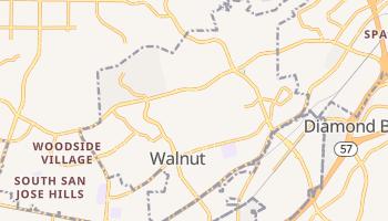 Walnut, California map