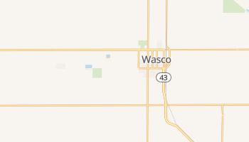 Wasco, California map