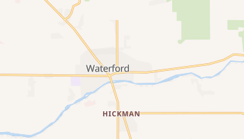 Waterford, California map