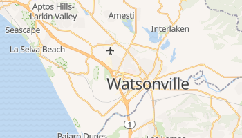 Watsonville, California map