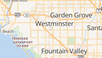 Westminster, California map