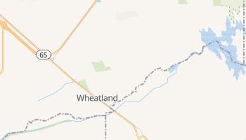 Wheatland, California map