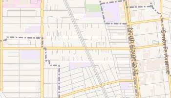Willow Brook, California map