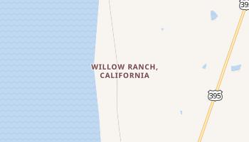 Willow Ranch, California map