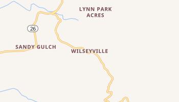 Wilseyville, California map