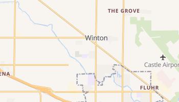 Winton, California map