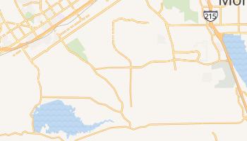 Woodcrest, California map