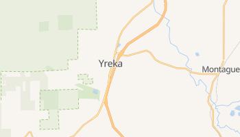 Yreka, California map