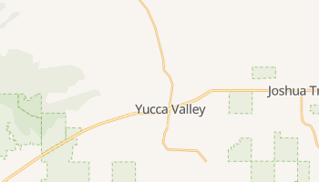 Yucca Valley, California map