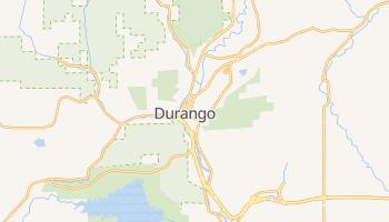 Durango, Colorado map