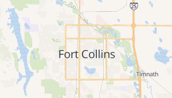 Fort Collins, Colorado map