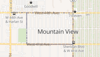 Mountain View, Colorado map