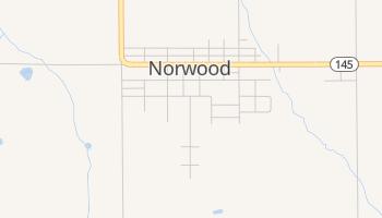 Norwood, Colorado map