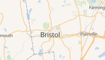 Bristol, Connecticut map