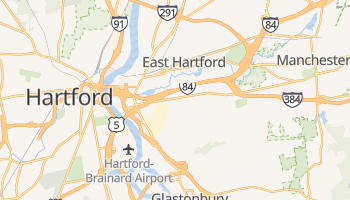 East Hartford, Connecticut map