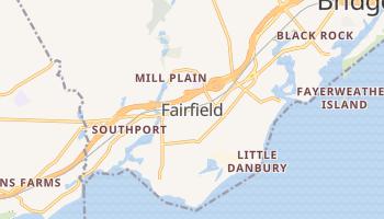 Fairfield, Connecticut map