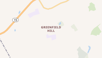 Greenfield Hill, Connecticut map