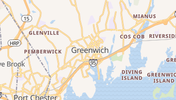 Greenwich, Connecticut map