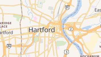 Hartford, Connecticut map