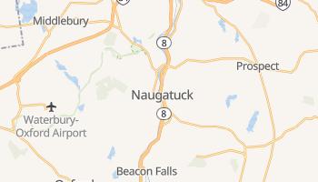 Naugatuck, Connecticut map
