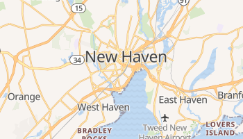 New Haven, Connecticut map