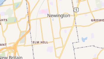 Newington, Connecticut map