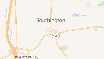 Southington, Connecticut map