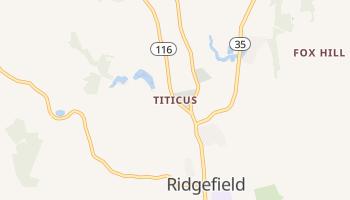 Titicus, Connecticut map