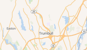 Trumbull, Connecticut map